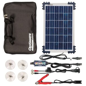 OptiMate Solar DUO 10W Travel Kit