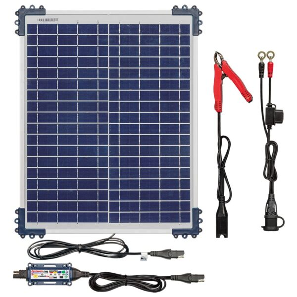 OptiMate Solar DUO + 20W Solar Panel