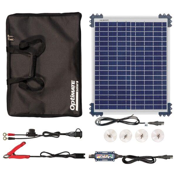 OptiMate Solar DUO 20W Travel Kit