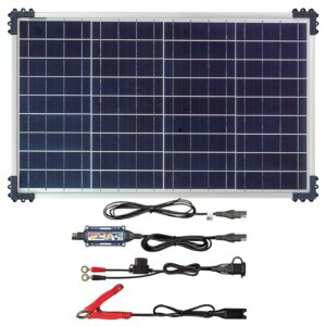 OptiMate Solar DUO + 40W Solar Panel